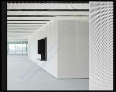 Exterior wall metal facade cladding systems expanded metal mesh