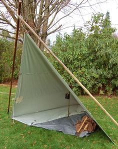 NW Woodsman - More Tarp Set Ups