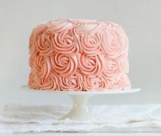 Peachy coral cake