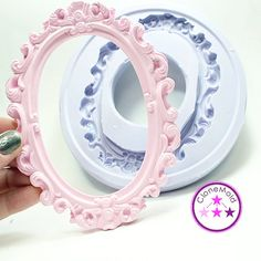 Frame Mold Oval picture Frame Silicone Rubber