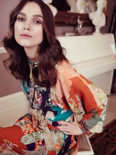 Keira Knightley by Elena Rendina for Violet Magazine March 2015 collar bone length