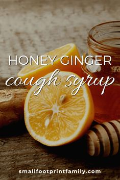 The recipe for getting better in our house is homemade, pasture-raised chicken soup, Netflix, and this homemade honey ginger syrup for coughs and sore throats. Health And Fitness Articles, Health And Wellness, Health Tips, Health Fitness, Natural Health Remedies, Herbal Remedies, Ginger Syrup, Cough Syrup, Diy Recipe