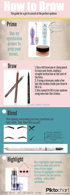eyebrow tips tricks tutorials