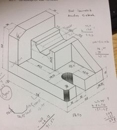 Orthographic Drawing, Technical Drawings, Mechanical Engineering, Autocad, Finals, Wallpaper, Art, Cad Drawing, Drawing Techniques