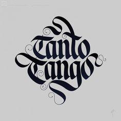 So much tango. Lettering | Gen Ramírez