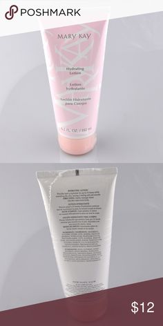 New Mary Kay Hydrating Lotion 6.5 fl oz Lotion is brand new, still sealed in shrink wrap. Provides lasting hydration for up to 24 hours. Leaves skin feeling soft and smooth. Great fresh scent. Clinically tested for skin irritancy and allergy. Dermatologist tested. Smoke free pet friendly home. Mary Kay Other