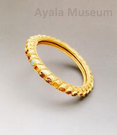 A #GoldBracelet made in 10th-13th century in #Philippines during the #pre-hispanic times.