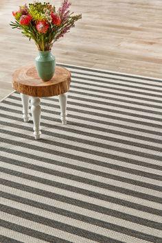 Gray Jailbird x m) – Luftwaffe – Tv Room Luftwaffe, Indoor Outdoor Living, Outdoor Rugs, Floor Decor, Grey Rugs, Rugs On Carpet, Carpets, Stripes Design, Grey And White