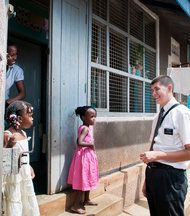 """A fair and revealing description of missionary work ... a little different than Ugandan missionaries in the """"Book of Mormon"""" on Broadway :-)"""