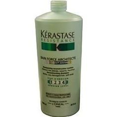 KERASTASE RESISTANCE BAIN FORCE ARCHITECTE VITA-CIMENT ADVANCED 33.8 OZ UNISEX *** This is an Amazon Affiliate link. To view further for this item, visit the image link.