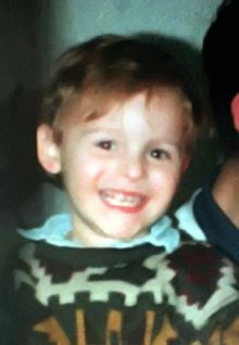 Jon Venables, 10 years & Robert Thompson, 10 years heartlessly murdered James Bulger, 2 years. His mutilated body was found on a railway line two-and-a-half miles away in Walton, two days after his murder.