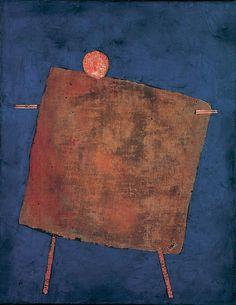 Paul Klee (1879-1940)  Scarecrow (Vogelscheuche), 1935  Mixed technique on canvas