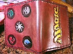 Magic the Gathering wallet. Bags available too!