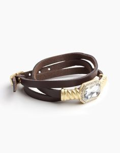 Wrap me in Leather Bracelet
