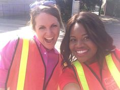 """WCHS & WVAH TV """"Hope in Oklahoma"""" boot drive #OKstrong May 30, 2013 Reporters @KatelynWCHS @Taisha L. Walker @TaishaWCHS ready to collect donations"""