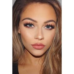 The Most Romantic Makeup And Hairstyles That Catch Your Eyes ❤ liked on Polyvore featuring beauty products