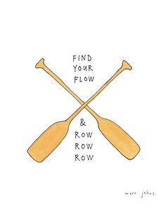 find your flow - Signed Print