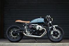 BMW R nineT Cafe Racer - Clutch Custom Motorcycles. Simple, limpia y elegante. Así luce esta BMW con la esencia clásica pero llena de tecnología.