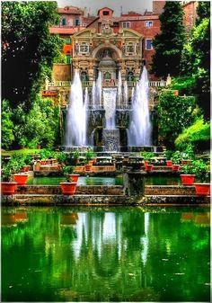 Tivoli Gardens ~ near Rome, Italy
