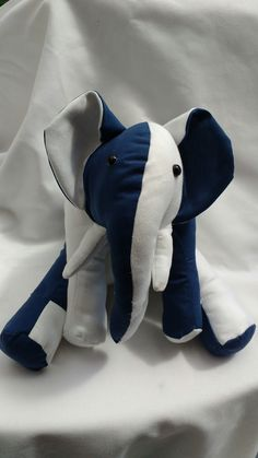Elephant made from Funky Friends factory pattern