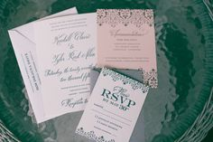 Gorgeous invitations! // Photo by Tracie Ancelet  #weddinginvitations #castletonfarms #weddingideas #wedding