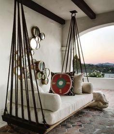 h ngendesoutdoor bett f r garten selber bauen garten natur ideen pinterest selber bauen. Black Bedroom Furniture Sets. Home Design Ideas