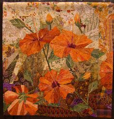 Ruth McDowell Quilts Art | ... Ruth McDowell's work and I think quite a great job of capturing the
