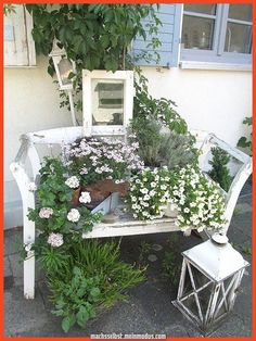 … even if it's just the beloved baggy couch. Covered for a long time … - Diy Garden Deco