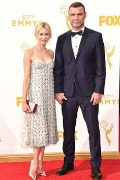 Naomi Watts in dior couture Emmy awards 2015 best dressed