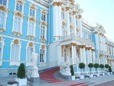 Catherine Palace, St. Petersburg - where the ballroom from Anastasia is!