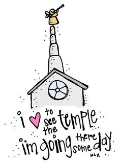 Melonheadz LDS illustrating I Love to see the temple coloring page and Salt Lake City Temple
