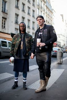 They Are Wearing: Paris Collections: Men's Fall 2016 [PHOTOS]