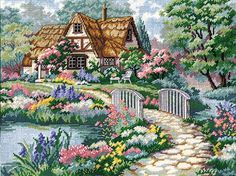 Dimensions Needlecrafts Needlepoint, Cottage Retreat Dimensions Needlecrafts http://www.amazon.com/dp/B0006HG7C2/ref=cm_sw_r_pi_dp_Gk5Eub0ZFFN22