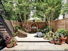 Backyard Retreat, Backyard Patio, Backyard Landscaping, Backyard Designs, Townhouse Landscaping, Backyard Plan, Backyard Ideas, Brownstone De Brooklyn, Amazing Gardens