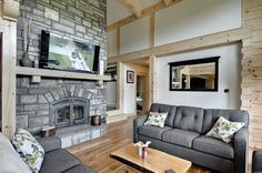 Find your style: options for your log or timber frame home   Confederation Log & Timber Frame