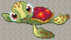 Free cross stitch pattern   turtle.gif.thumb