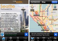 Journey to the Emerald City: 10 Travel Apps for Visiting Seattle  SMARTPHONE TRAVEL APP SHOWCASE FROM AT