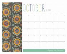 Organize sem Frescuras | Rafaela Oliveira » Arquivos » Calendário (planner) Decor 2016 para imprimir