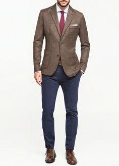 Pantalon Bleu, Mode Masculine, Tenue Mariage, Costume Homme, Fringues, Mode f9351694adc4
