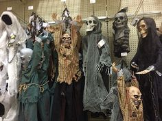 9/6/2015 MENARDS in Ankeny, Iowa, the ever popular hanging ZOMBIE decoration