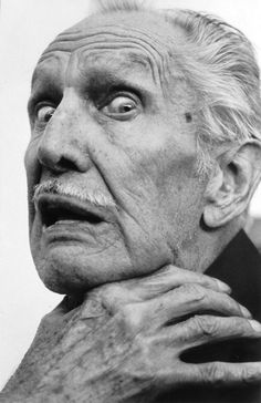 "Vincent Price. Scary man. His laugh is still the reason the end of Michael Jackson's ""Thriller"" gives me goosebumps."