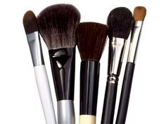 How to Get Rid of What Lurks in Your Makeup (and Skin) Brushes: Daily Beauty Reporter from Allure: Clean your makeup brushes regularly! It gets rid of bacteria and debris clinging to the bristles and allows your make-up to go on more evenly.