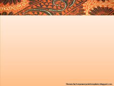 Free PowerPoint Templates: Batik Powerpoint Background