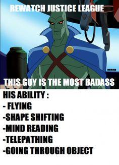And yet you debate between Superman or Batman?