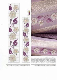 This Pin was discovered by Jud Cross Stitch Bookmarks, Cross Stitch Borders, Cross Stitch Rose, Cross Stitch Flowers, Cross Stitch Designs, Cross Stitching, Cross Stitch Embroidery, Embroidery Patterns, Hand Embroidery