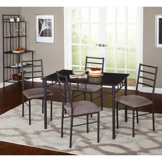 Target Marketing Systems Liv 6 Piece Dining Table Set