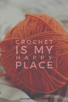 It's the happiest place on earth. #crochet