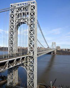 George Washington Bridge--spanning the Hudson River New York, USA I must have traveled on that bridge at least 1,000 times
