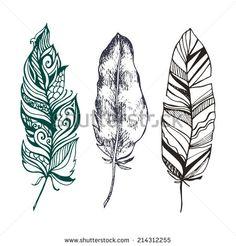 feather mandala drawing - Google Search