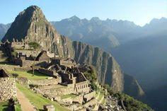 Machu Picchu, Peru - The Inca Trail footpath is an ancient Andean passage from Cusco, capital of the Incan empire, through the Sacred Valley, to the 15th-century ruins of the civilization's crown jewel, Machu Picchu.